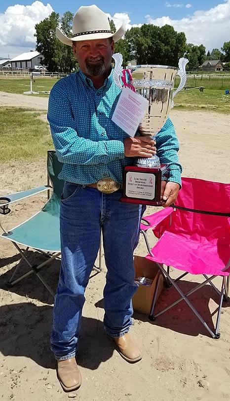 Brett Redden 2019 Spirit of Horsemanship Award