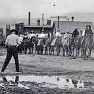 Historical Cattlemen's Days Cowboys and Horses