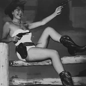 Historical Cattlemen's Days Eileen McCartney 1950 Sweetheart of the Rodeo sent in by granddaughter Megan