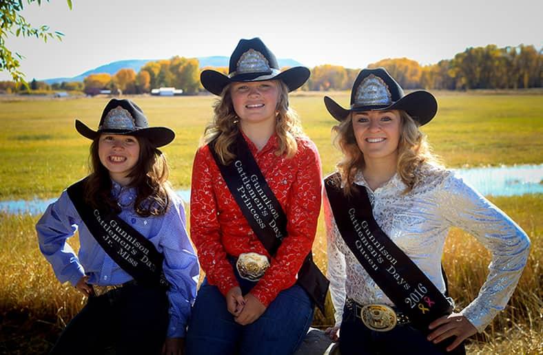 Cattlemen's Days Royalty 2016