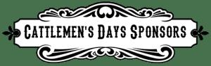 Cattlemens Days Sponsors