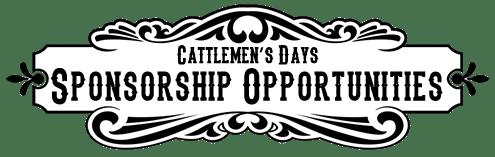 Cattlemens Days Sponsorship Opportunities
